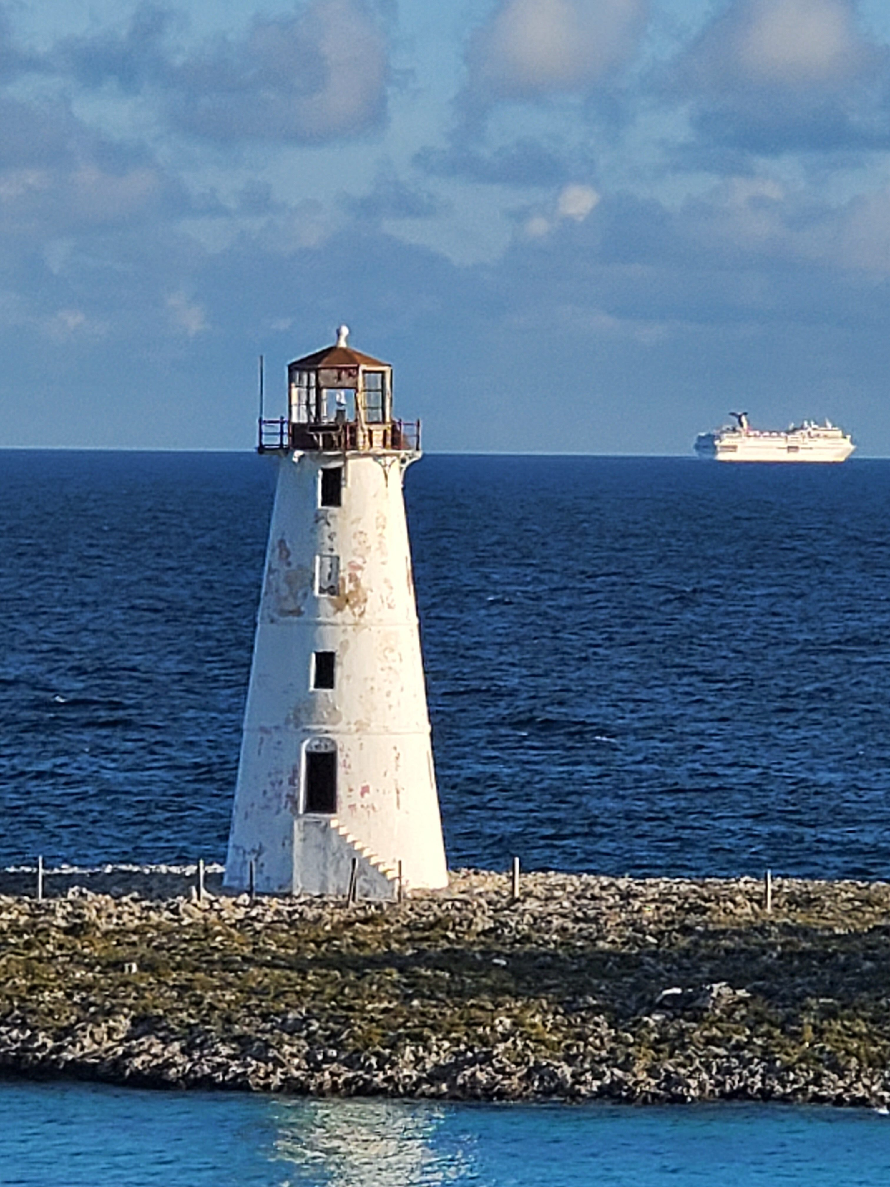 Hog Island Lighthouse - - Royal Caribbean offers up the Perfect 3 Day Weekend