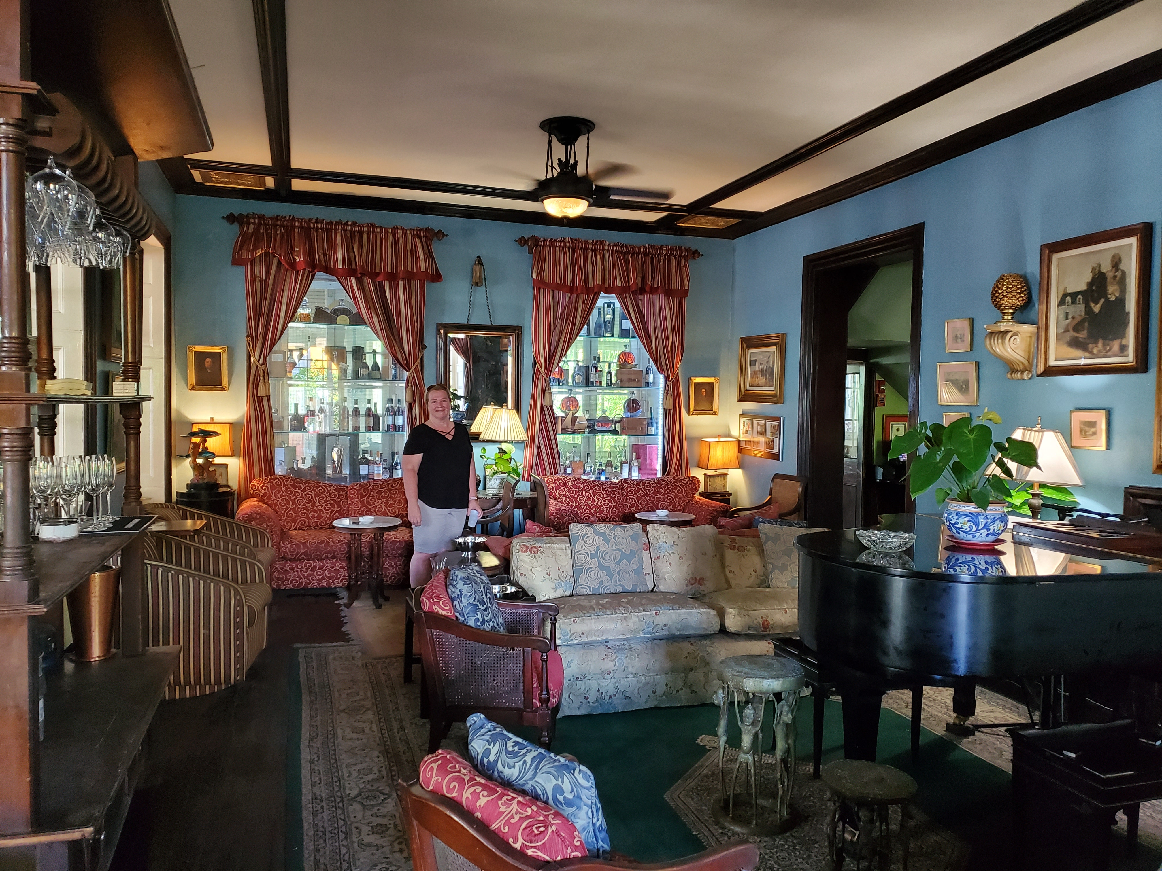 Graycliff Sitting Room