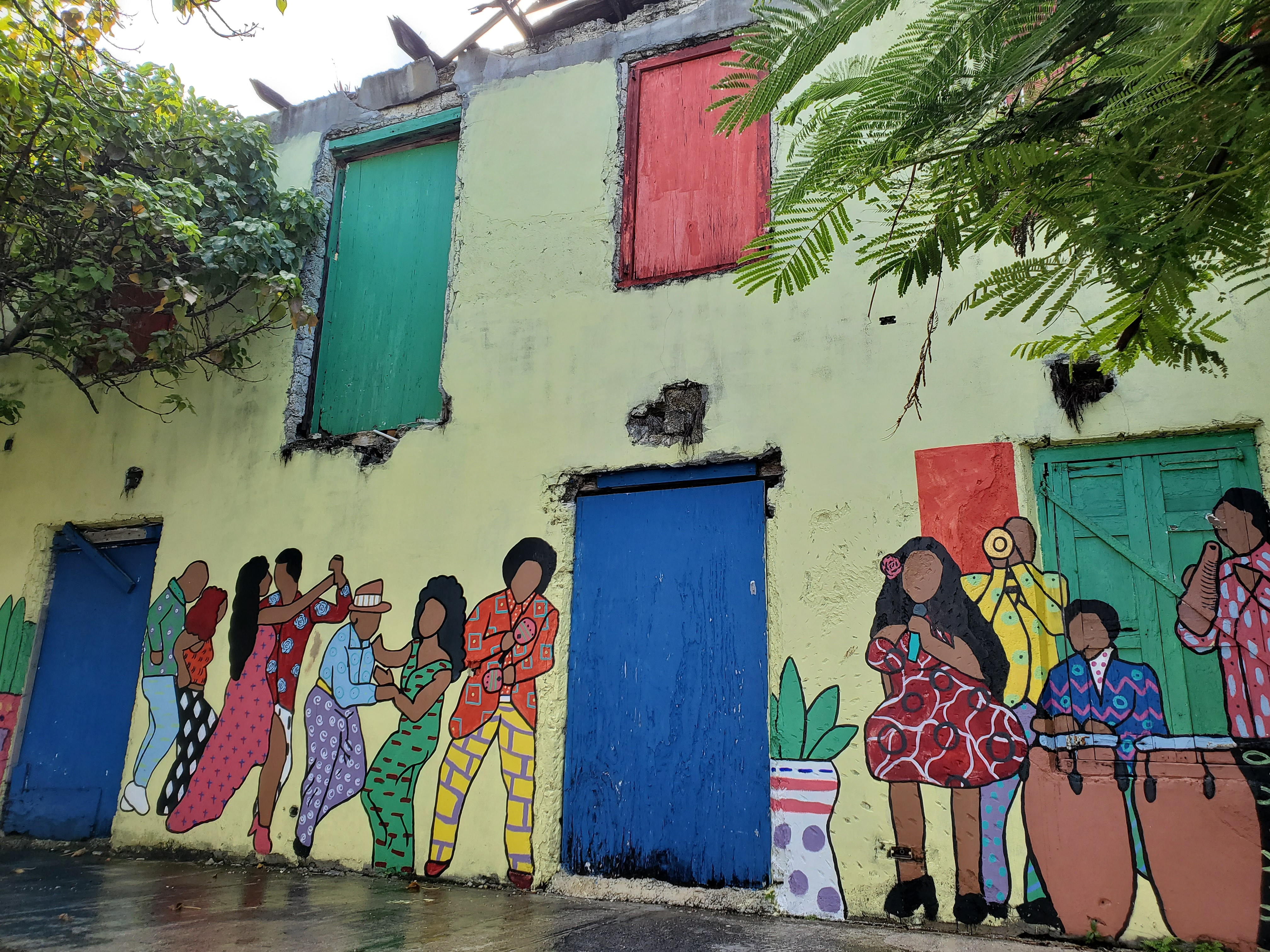 Mural by June Collie